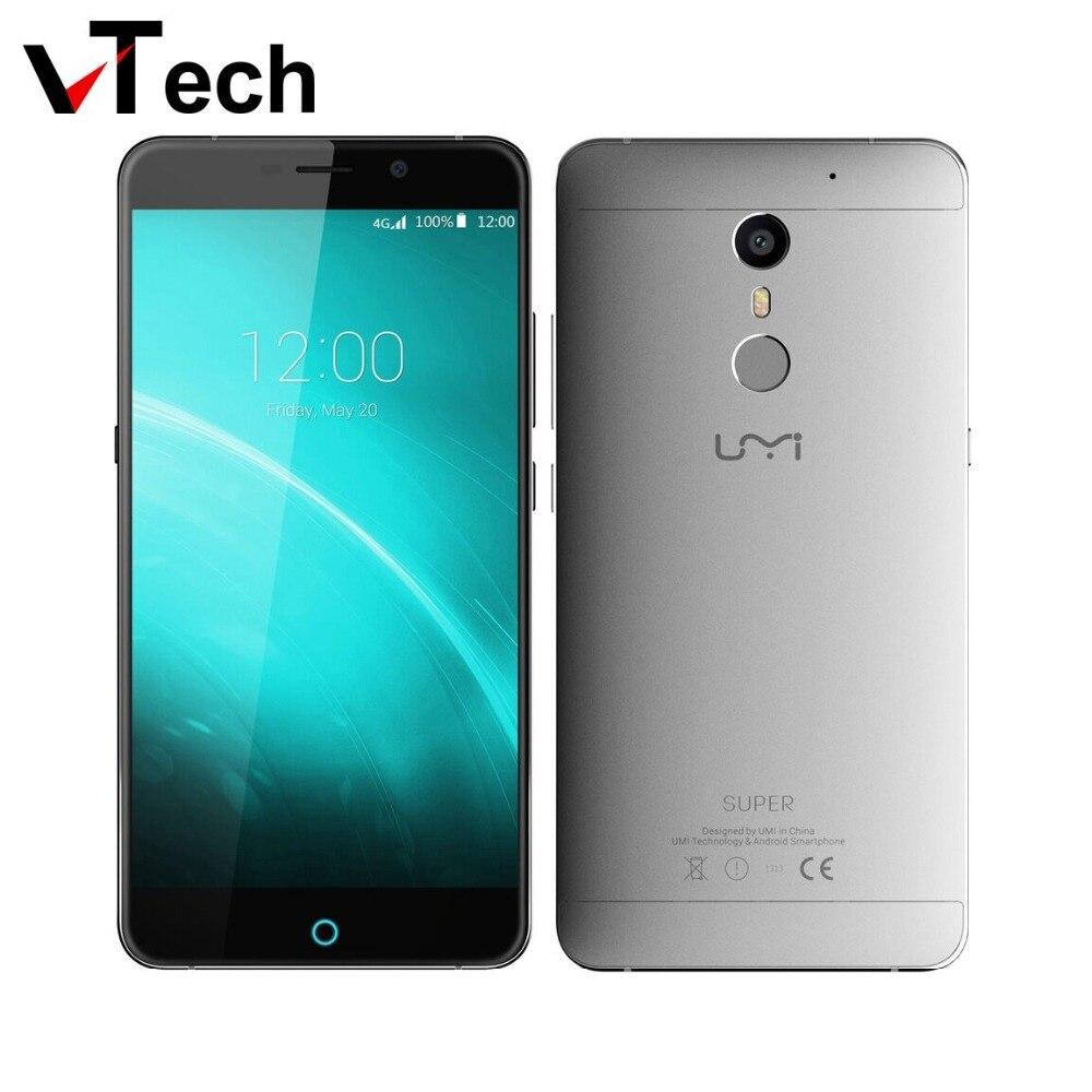 2016 NEW Original UMI Super 4G LTE Mobile Phone 5 5 FHD MTK6755 Octa Core 4G