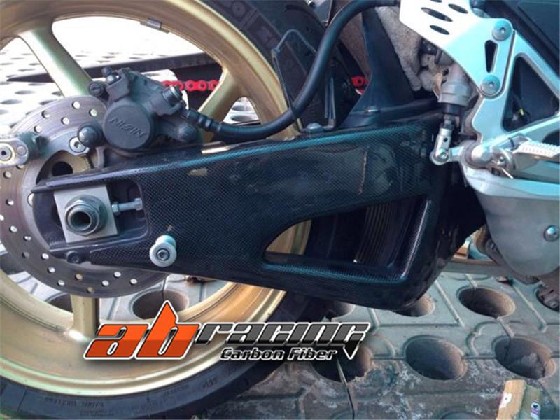 Swingarm Cover For Yamaha R1 2009 - 2014  Full Carbon Fiber 100%