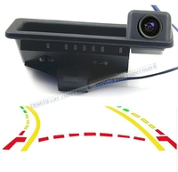 Car Trunk handle Intelligent Trajectory Tracks Rear View Camera For BMW E60 E61 E70 E71 E72 E82 E88 E84 for BMW 1 3 5 X5 X6 X1