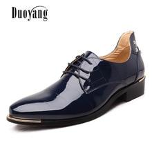Men  shoes 2016 new fashion PU leather casual men shoes