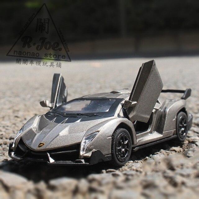 136 metal car models kids toys lanbogini poison super sports car children like the