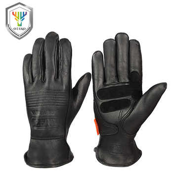 OZERO Safety Gloves Working Hand-type Gloves Protective Welding Garden Antistatic Fishing Gloves Leather Work Gloves For Men 009 - DISCOUNT ITEM  24% OFF All Category