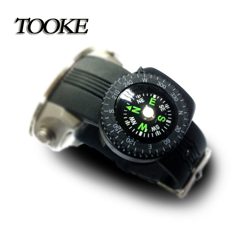 Scuba Diving Underwater Micro Attachable Compass Navigation Outdoors Hands Free Sporting Goods