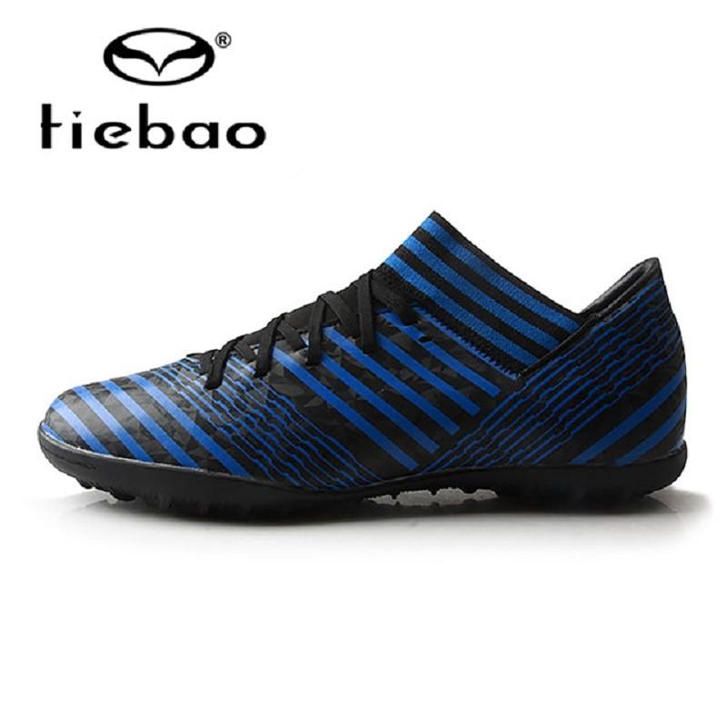 TIEBAO Обувь для футбола TF взрослых подошвы дышащий открытый кроссовки для Для мужчин Футбол Training ботинки мужская обувь