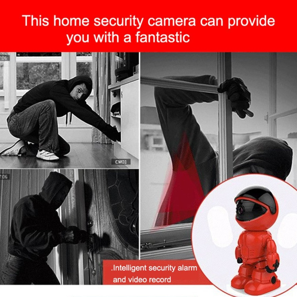 Security & Protection Baby Monitors 1080p Hd Network Camera Two-way Audio Wireless Network Camera Night Vision Motion Detection Camera Robot Pet Baby Monitor