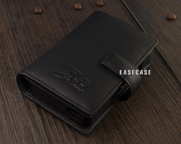 Image 4 - E4 Custom Made Genuine Leather case for LOTOO Paw Gold Touch-in Phone Pouches from Cellphones & Telecommunications