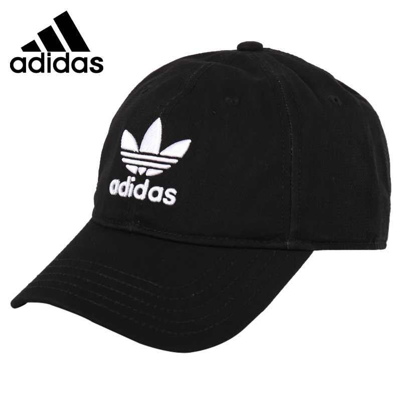 1fcdb0ad8a8 Original New Arrival 2018 Adidas Originals TREFOIL CAP Unisex Running Sport  Caps-in Running Caps from Sports   Entertainment on Aliexpress.com