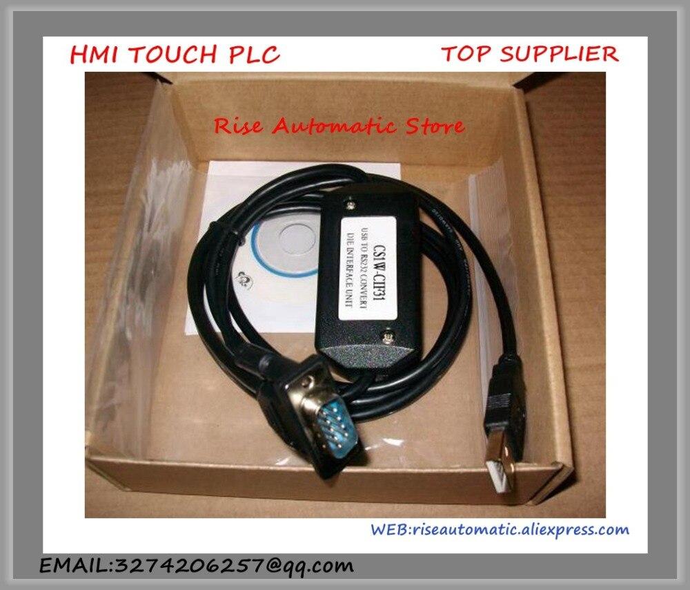 CS1W-CIF31 USB-CIF31 ПЛК кабель программирования USB к RS232 кабель конвертации поддержка Win7 Win8 USB/CIF31 CS1WCIF31