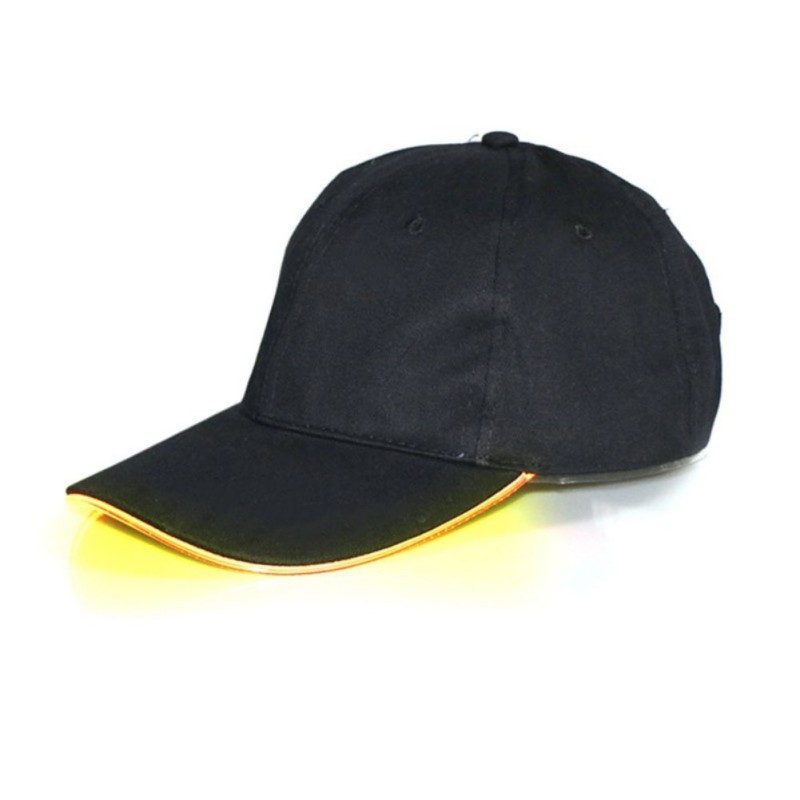 Glowing Adjustable Party Baseball Caps 16