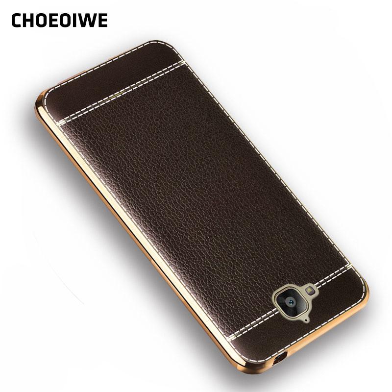 Pouzdra na telefon CHOEOIWE pro pouzdro Huawei Honor 4C Pro Soft, TPU, kožené pouzdro