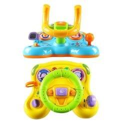 Детская игрушка для вождения рулевого колеса и оснащена огнями, зеркалом, музыкой, звуками вождения, игрушками для раннего образования дете...