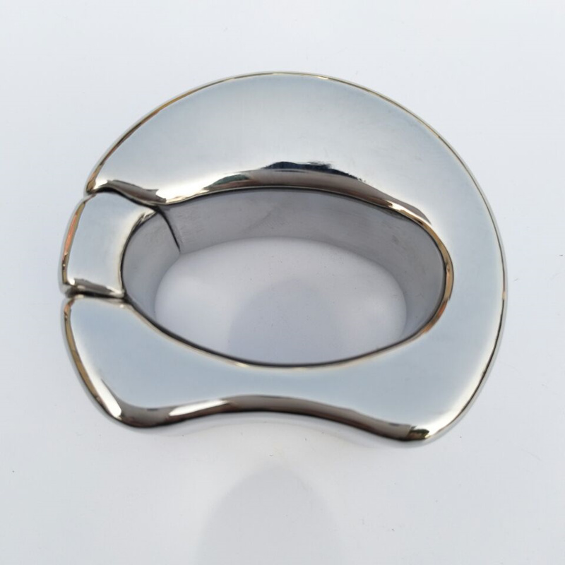 Stainless Steel Scrotal Bondage Penis Pendant Testicle Rings Balls Stretcher Scrotum Locking Ring Penis Rings Sex Products Lover cock rings scrotum ring stainless steel ball stretcher cockring adult sex toys for men scrotum bondage locking penis ring