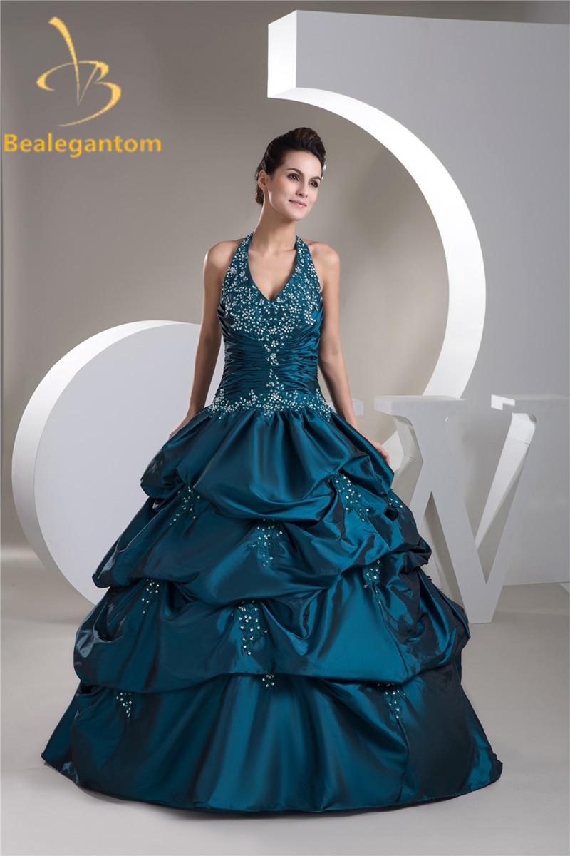 Bealegantom Ball Gown Quinceanera Dresses 2019 Wit