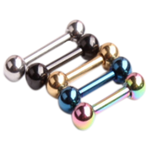 Colorful TITANIUM TRAGUS CARTILAGE Helix Ear Rings Stud Barbell Piercing Jewelry Random Color