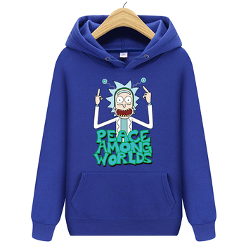 Rick and Morty - Peace Among Worlds Hoodie