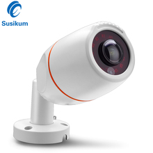 H.265 SONY307 Sensor Starlight IP Camera 0.0001Lux Color Day And Night Vision 1.7mm Lens Fisheye Bullet 180 Degree