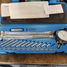 Шкала диаметра 50-160 мм Индикатор отверстия измерительный цилиндр двигателя измерительный инструмент комплект