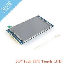 "3.97 Polegada tft lcd 3.97 ""display ips resistência tela de toque módulo visão completa hd 800*800 c51 stm32 driver nt3551 diy para arduino"