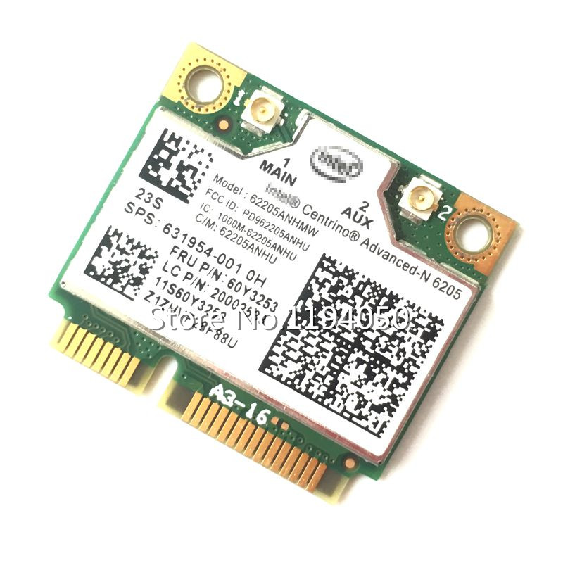 Intel Centrino Advanced-N 6205 62205HMW 6205AGN Wireless 300Mbps Wifi Card For X220 T420 T520 60Y3253 8570 8460 631954-001(China)