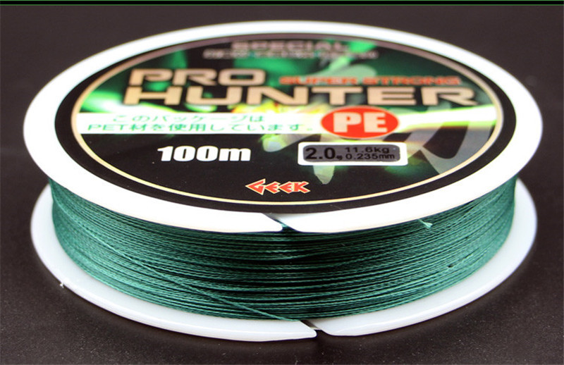 Brand Quality 8 Strands PE Braided Fishing Line 100M Quick Sinking Anti-bite Fishing Wire Multifilament PE Line for Sea Fishing (10)