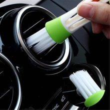 Car Auto Brushes car-styling Keyboard Dust Collector Computer Clean Tools For Land Rover LR4 LR2 Range Rover Evoque(China)
