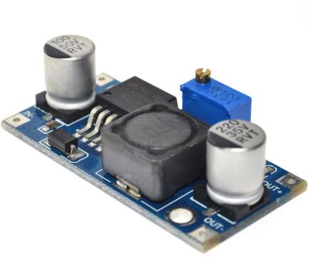 Free Shipping 1pcs LM2596 LM2596S DC-DC 4.5-40V adjustable step-down power Supply module NEW High Quality 1pcs dc dc lm2596 adj lm2596s dc dc adjustable buck module