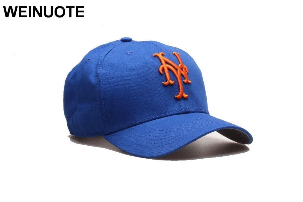 reputable site 2e886 46fad ... discount 2 styles mens new york mets strapback blue hats sport ny black  classic fashion baseball