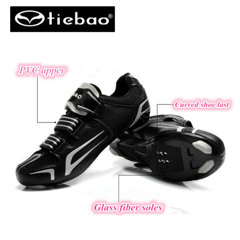 TIEBAO cycling shoes scarpe ciclismo strada Road bike shoes athletic rubber bands equitation cheep sneakers men TB16-B1268