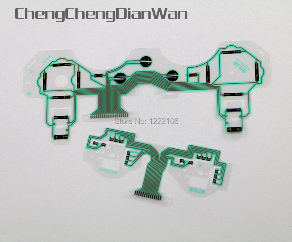 ChengChengDianWan 10pcs=5sets Original SA1Q222A SA1Q224A Circuit Board PCB Ribbon Conductive Film Keypad Flex Cable For PS3