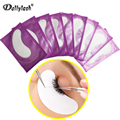 Dollylash 10 Pairs Paper Patches Eyelash pad Gel patch Under Eye Pads for Eyelash Extensions Eye Tips Sticker Wraps Make Up Tool