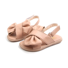 2019 Girls Summer Sandals Baby Girl Toddler Kids Shoes With Sweet Princess Soft Children's Beach Shoes Bow Pink White все цены