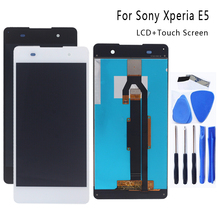 5.0-inch For Sony Xperia E5 LCD Display Touch Screen Digitizer for Sony Xperia E5 F3311 F3313 replacement Phone Parts Repair kit sony xperia e5 black