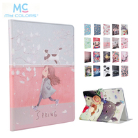 For Huawei M3 Lite 10 10 1 PU Leather Case Cover Smart Tablet PC Fundas For