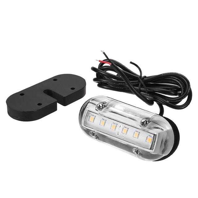12 ボルト LED 水中ライト海洋ヨットボートトランサムライト照明防水ボートアクセサリーマリン