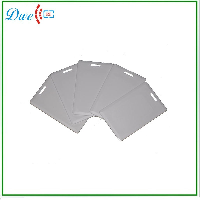 DWE CC RF Free shipping 100pcs/lot  125khz RFID 125KHz Writable Rewrite T5577 PVC clamshell card Proximity Access card dwe cc rf free shipping 100pcs per lot factory price iso14443a mf access control 13 56mhz pvc cards