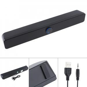 Image 1 - SADA V  193 เดสก์ท็อป Strip Soundbar ซับวูฟเฟอร์ลำโพง 3.5 มม.แจ็คสเตอริโอ USB สำหรับ PC/แล็ปท็อป/โทรศัพท์มือถือ