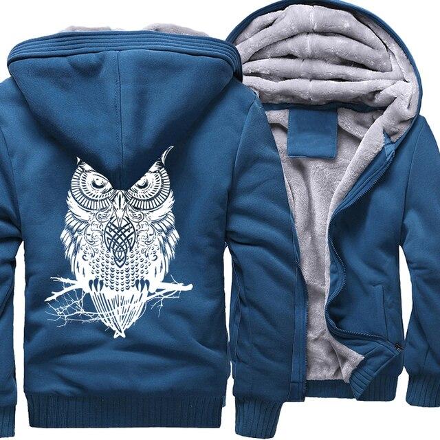 Winter Hoodie For Men Fleece Thick Sweatshirt  3