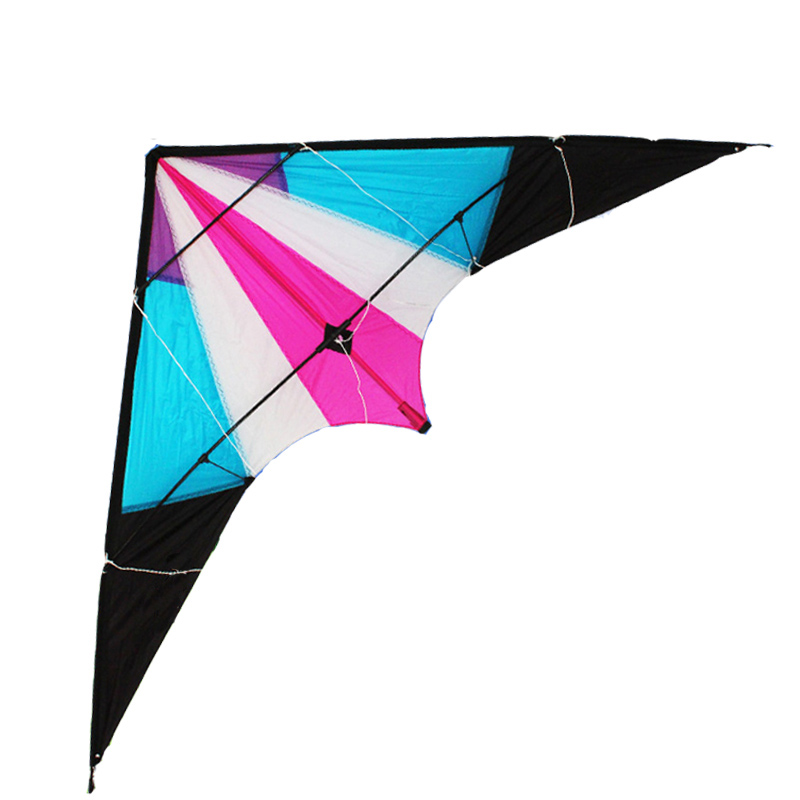 Free Shipping Outdoor Fun Sports 2015 NEW 1.8m Power Stunt Kite With Handle And Line /String For Beginner Good Flying