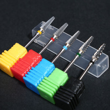 1pcs Carbide Tungsten Milling Cutter Burrs Electric Nail Drill Bit 5 Types Cuticle Polishing Tools for Manicure Drill #TND0033