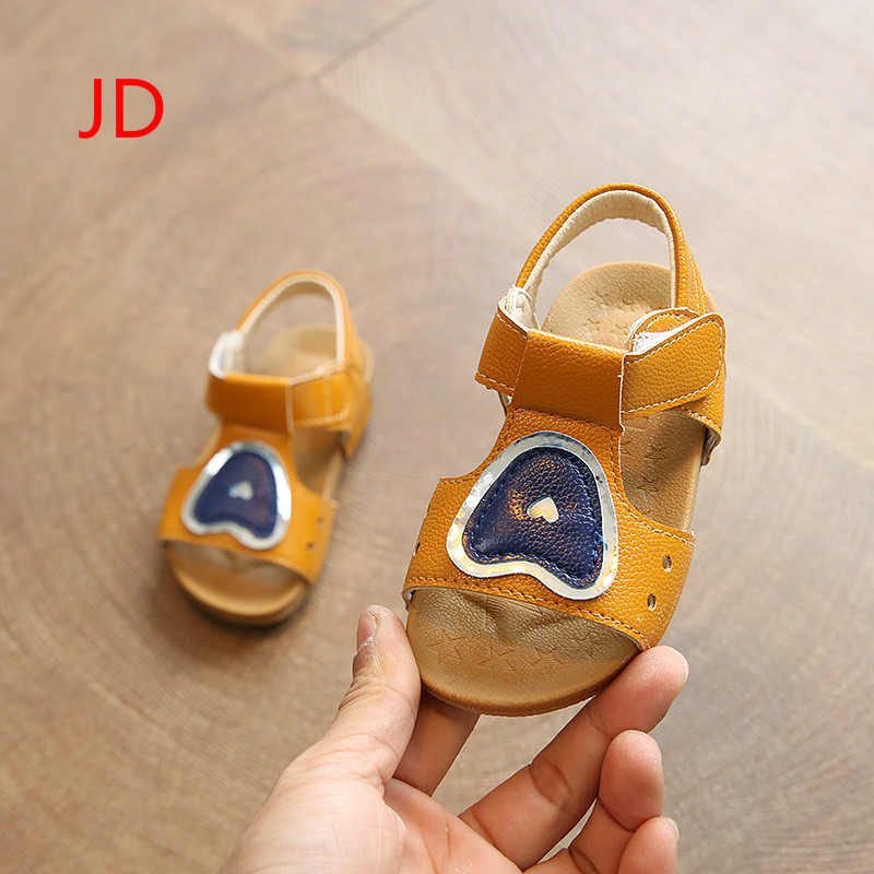 JD Childrens Shoes, Summer Boys and Girls, Toe Sandals, Childrens Beach Shoes, Baby Walkers