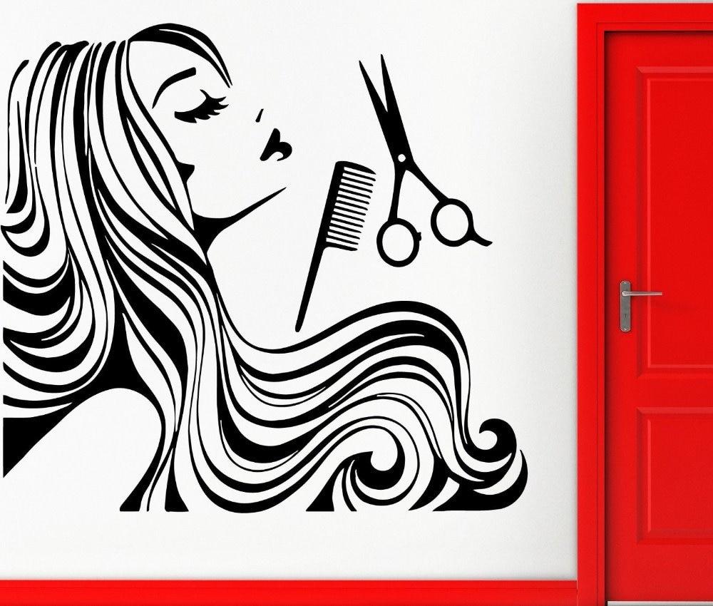 Картинки для парикмахерской карандашом