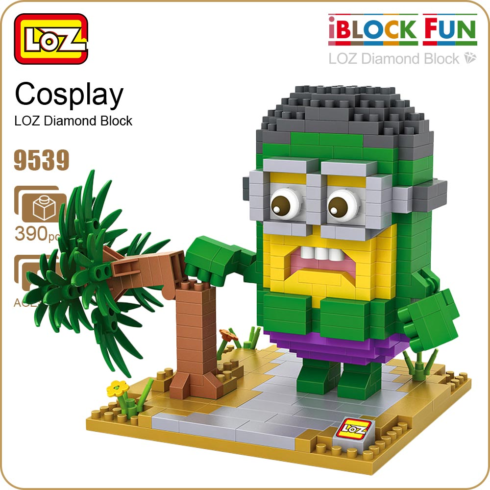 LOZ Building Blocks Action Figures font b Toys b font For Children Diamond Block Education Superheroes