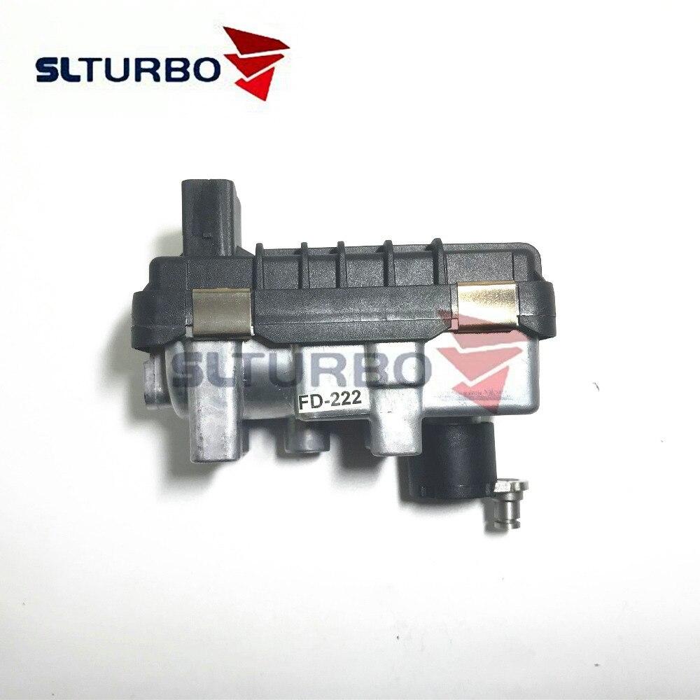 Pour Ford Focus II 1.8 TDCi 85Kw 115HP LYNX 2005-G-222 nouveau GTB1746V 712120 Turbine électronique actionneur turbo 742110