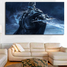 Wrath Of The Lich King World Warcrafts Wallpapers Wall Art Canvas Posters Prints Painting Pictures Bedroom Home Decor HD