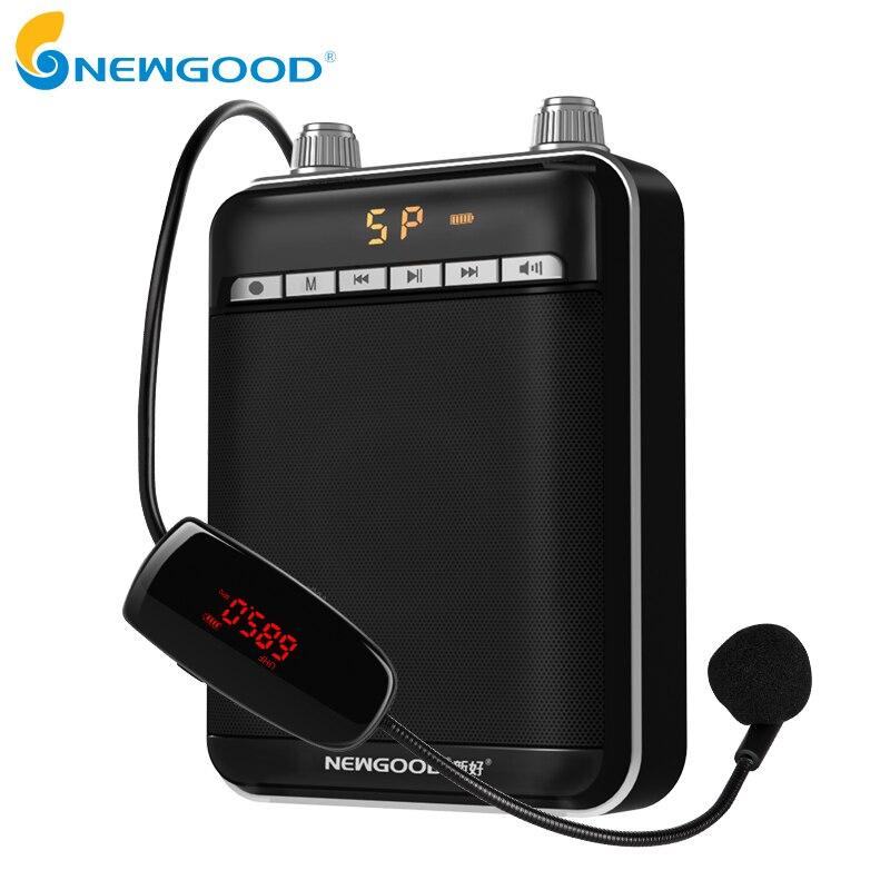 Intelligent Sans Fil Portable Amplificateur de Voix Haut-Parleur Avec UHF Sans Fil Microphone Mégaphone Pour la Tournée Enseignement Guide De Yoga