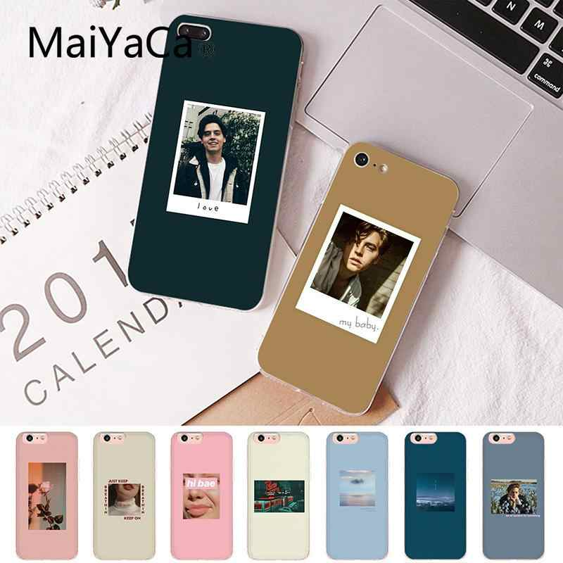 Maiyaca Jughead Riverdale Funny Spoof Art Customer High Quality Phone Case for iPhone 8 7 6 6S Plus X XS MAX 5 5S SE XR 10 Cover
