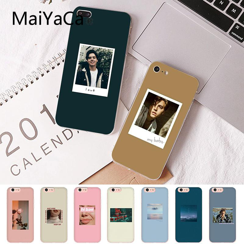 Maiyaca Jughead <font><b>Riverdale</b></font> Funny Spoof Art Customer High Quality Phone <font><b>Case</b></font> for <font><b>iPhone</b></font> 8 7 <font><b>6</b></font> 6S Plus X XS MAX 5 5S SE XR 10 Cover image
