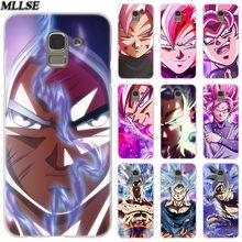 MLLSE Super Dragon Ball Goku Clear Case Cover for Samsung Galaxy J2 J4 CORE J3 J5 J7 2016 2017 EU J8 J6 2018 J4 Plus J7 Prime