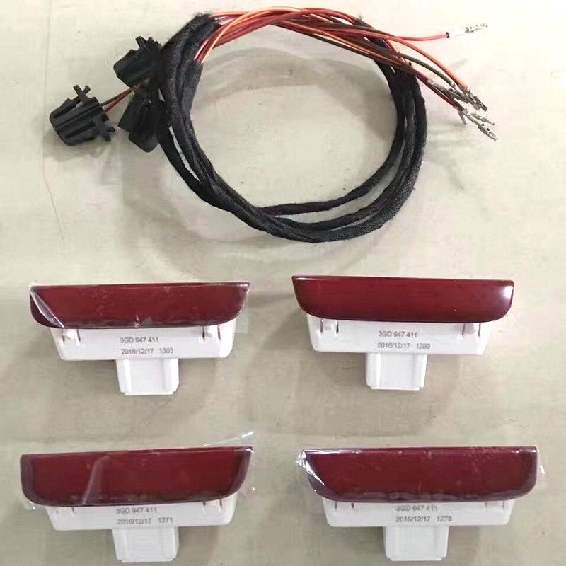 Aplicar para VW PASSAT B8L Tiguan L advertencia de puerta pedal puerta Cable 3GD 947 411 3GD947411