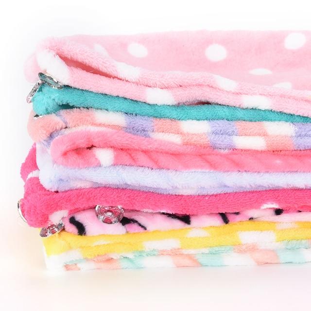 Quick Dry Bath Turbie Turban Twist Drying Cap Lady Women Girls Hair Wrap Head Towel Loop Button Hat Makeup Cosmetic Bathing Tool